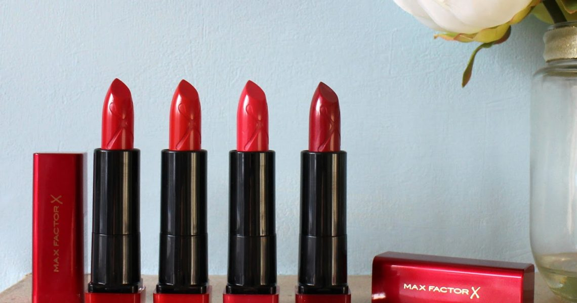 MaxFactor Marilyn Monroe Red Lipsticks